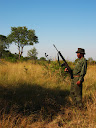 On the lookout for any predators or rampaging elephants or rhinos.