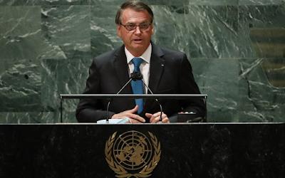 Em discurso na ONU, Bolsonaro volta a defender 'tratamento precoce