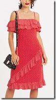 Oasis Red Spot Sundress