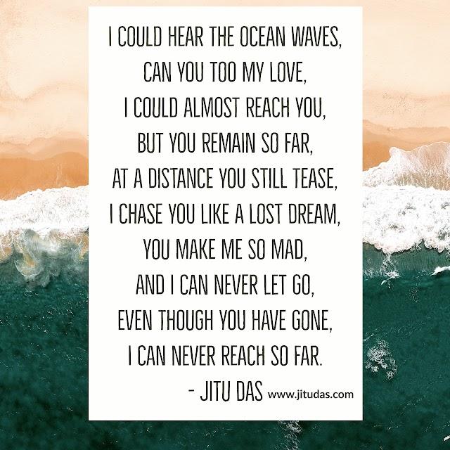 Love that is gone, sad love poem by Jitu Das poems 2018 July