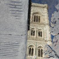 Il campanile nella pozzanghera.  di