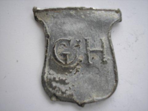 Naam: G. HouttuinPlaats: GroningenJaartal: 1750Vindplaats: Oude kijk in 't Jatstraat Groningen