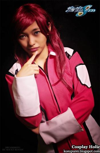 gundam seed cosplay - flay allster by juliann ysabel