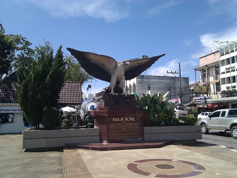 Big Eagle Statue at Krabi
