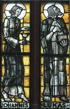 Vidrieras de Nikolaikirche (Iglesia de San Nicolás) -  Römerberg