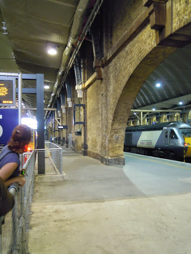 King's Cross Train Station - construction for the Olympics