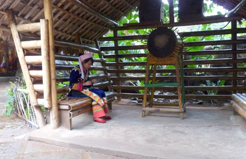 CHINE.YUNNAN.KUN MING Village des minorités 2 - P1270624.JPG