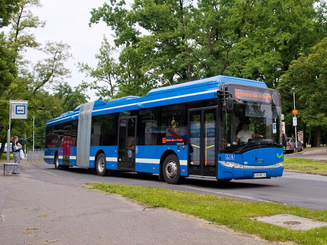 Solaris Urbino 18 CNG LE (Low Entry)