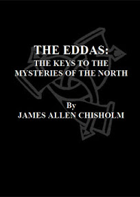 Cover of James Allen Chisholm's Book The Eddas The keys To The Mysteries Of The North
