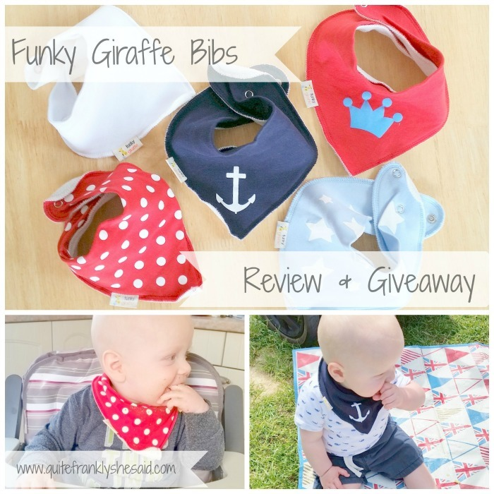Funky Giraffe Review Giveaway
