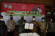 Bupati Aceh Besar Buka TMMD ke-110 di Kecamatan Kota Jantho