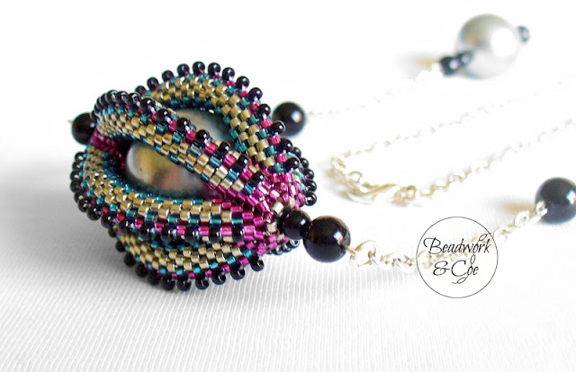 Beaded Pendant by Beadwork and Coe
