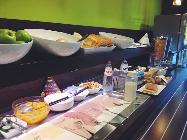 ontbijt buffet accor leuven centrum
