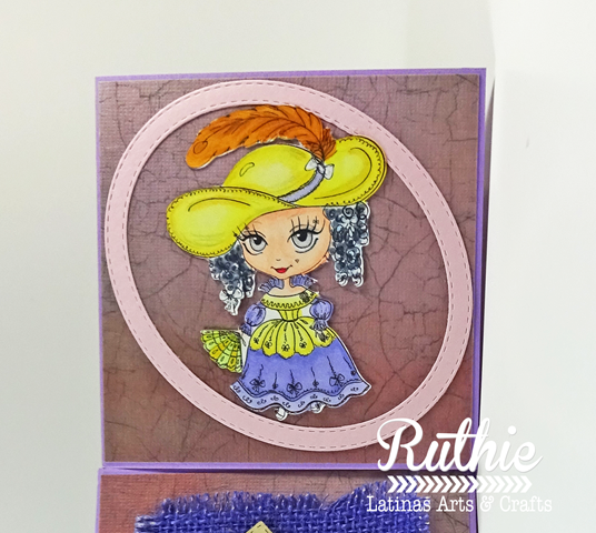 Julia Spirit - french Lady - Latinas Arts and Crafts - Ruthie Lopez - My Hobby My Art 3