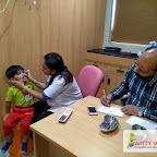 Dental Checkup for Playgroup Section(2017-18) at Witty World, Bangur Nagar