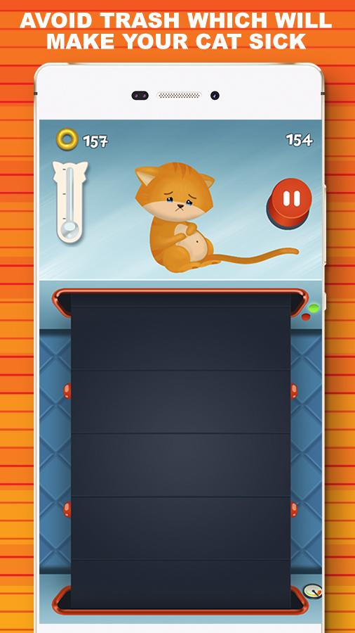 Curly Wings 🐱 Cat Lovers Game- screenshot