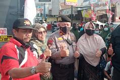 (Himpas) Himpunan Para Pedagang Pasar Jungjang kembali Geruduk Kantor Desa Jungjang