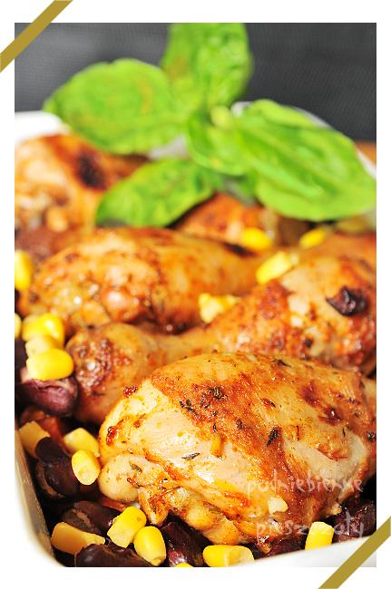 Kulinarne Inspiracje Kamis - Rozmarynowy kurczak z warzywami