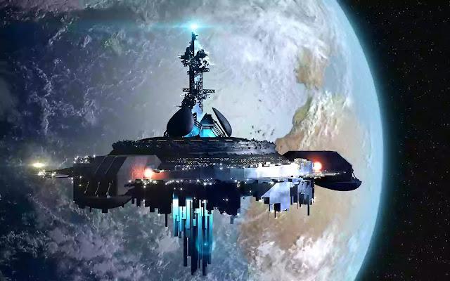 Oceanic Aliens| spaceship