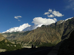 First sight of Rakaposhi, Nagar