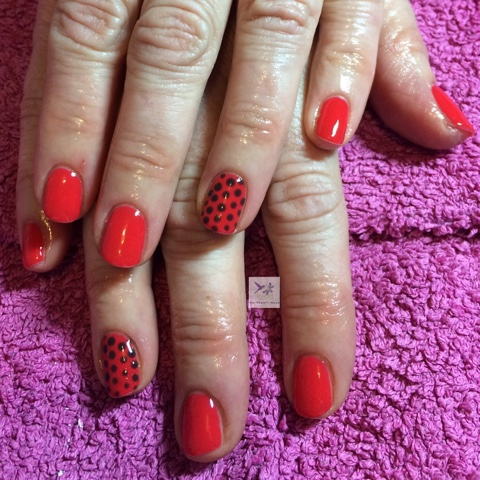 Applying Nail Art Using Gel Means That You Can Change And Perfect Your Design Before Curing Ensuring The Client Is Pletely Happy With