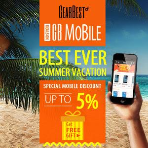 GearBest Summer Promotion