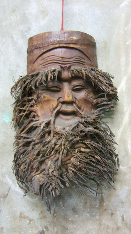 Taiwan Su Ao Carved bamboo
