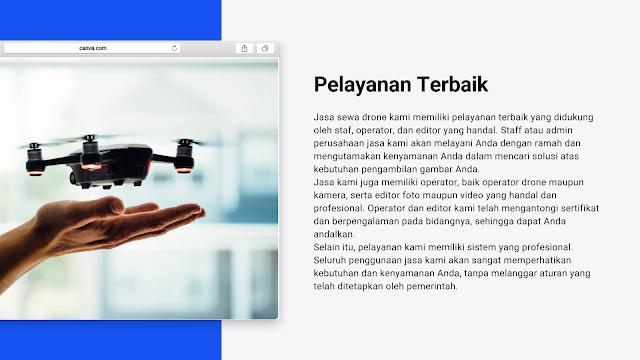 Jasa Sewa Drone Medan