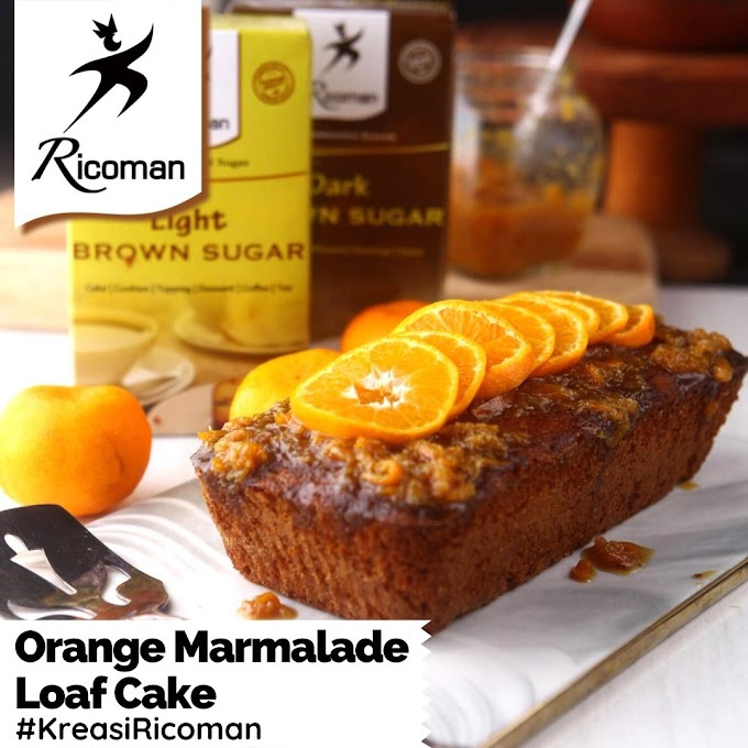 [RESEP] Sticky Orange Marmalade Loaf Cake