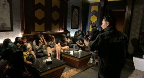 Karaoke Venesia BSD Digerebek Polisi, 6 Orang Jadi Tersangka