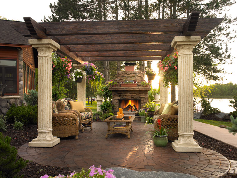 Outdoor rooms frog hill designs blog for Outdoor great room ideas