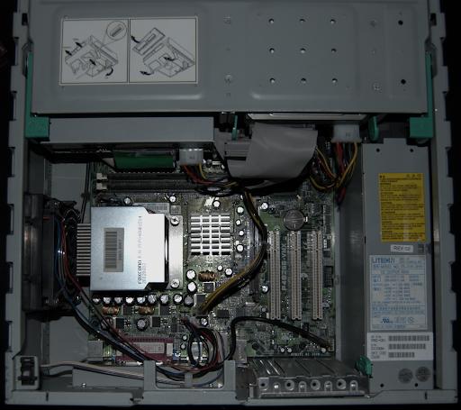Compaq EVO (interior)