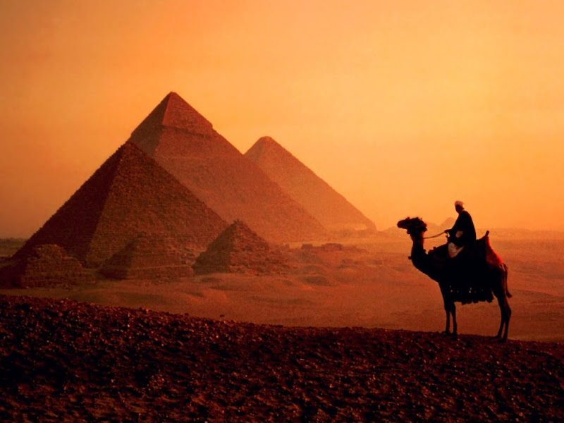 Egypt Sunset, Egyptian Magic