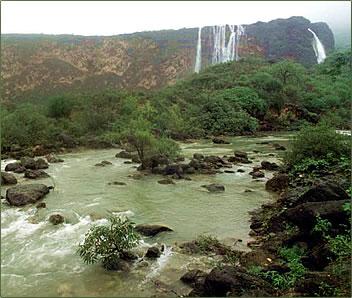 Oman - Salala-Monsoon River