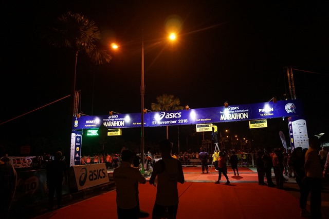 Asics Penang Bridge International Marathon 2016