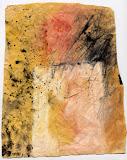 piedestal rose / papier t.mixte / 15x30 / 1994