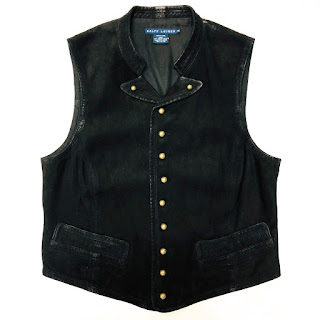 Ralph Lauren Leather Vest