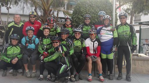 Peña MTB 2012 y bicicolegas