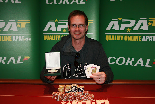 Dave Burt - Welsh Amateur Poker champion!
