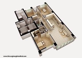 Trang trí nội thất trọn gói căn hộ Quận 5