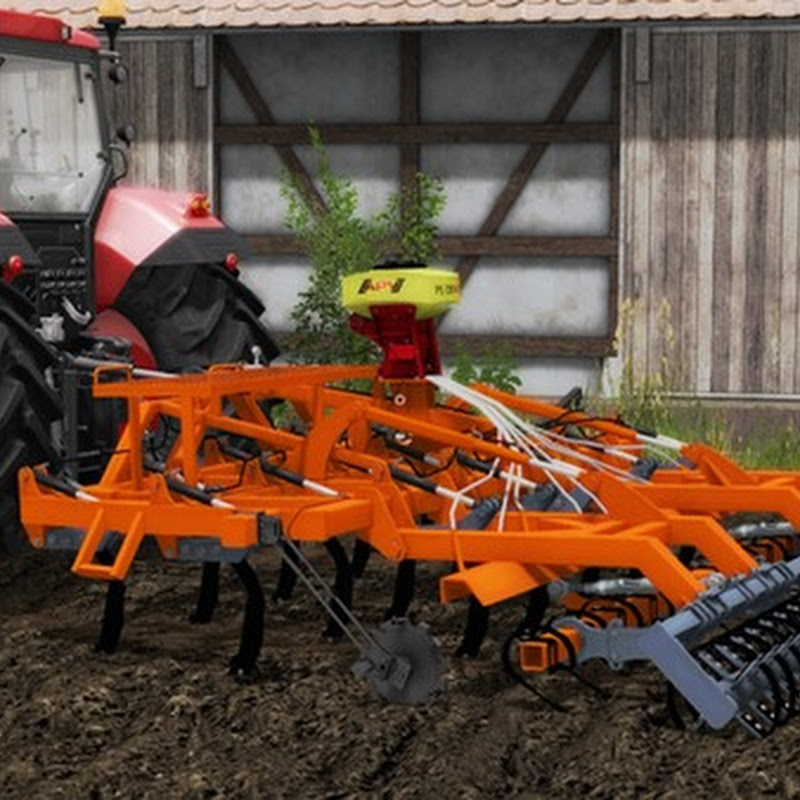Farming simulator 2017 - Laumetris Stubble harrow SL-3 V 1.0