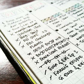 isi bullet journal ideas