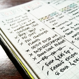 isi bullet journal ideas