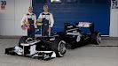 Launch Williams FW34 with Senna & Maldonado