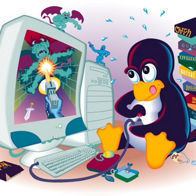 Todos los juegos presentes en los repositorios de Ubuntu.
