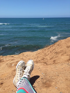 Cliff-side considerations from a gluten free college celiac at sunset cliffs