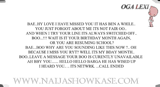 hehe This guy has had enough..  - Naija Show Kase