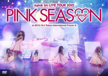 [TV-SHOW] Apink 1st LIVE TOUR 2015 ~PINK SEASON~ (BDISO)