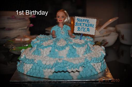 Diya's 1st Birthday