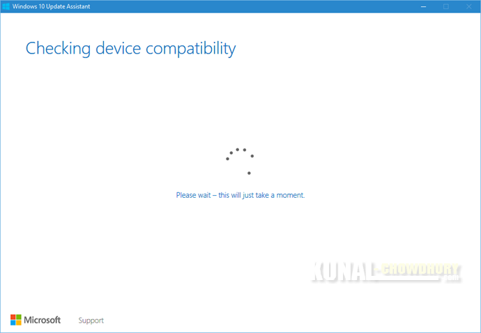 2. Checking device compatibility (www.kunal-chowdhury.com)